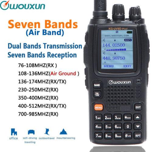 Ham Radio Walkie Talkie Wouxun KG-UV9D plus Dual Band VHF/&UHF 136-174MHz//400-480MHz 999 channels vox Long Range 2-5 miles Two Way Radio Transceiver WOUXUN ELECTRONICS CO LTD