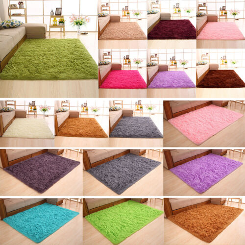 Fluffy Area Rugs Soft Anti Skid Dining