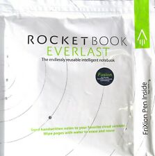 "Rocketbook Wave The Intelligent Reusable Notebook 6/"" x 8.8/'/' w// Frixion Pen#2132"