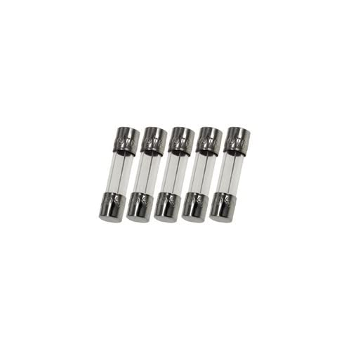 Witonics AGC-2 Fast-Blow Glass Fuses F2A 250V 6x30mm Pack of 5
