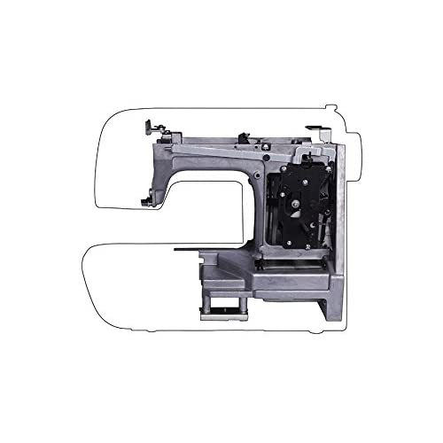 SLLEA AC in Power Cord Cable for Singer Sew Mate Sewing Machine Series 5400 5500 5625 6160 120 125 130 135 140 145 150 153 155 160 163 165 170 180 185 190 200 220 Brother 845 NS40 FS40 NV1000 NX600