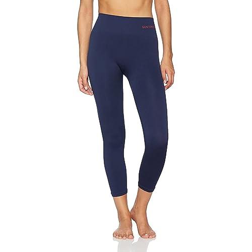 Under Armour Favourite Womens Capri Tights Purple Gym Sports Training 3//4 Tight