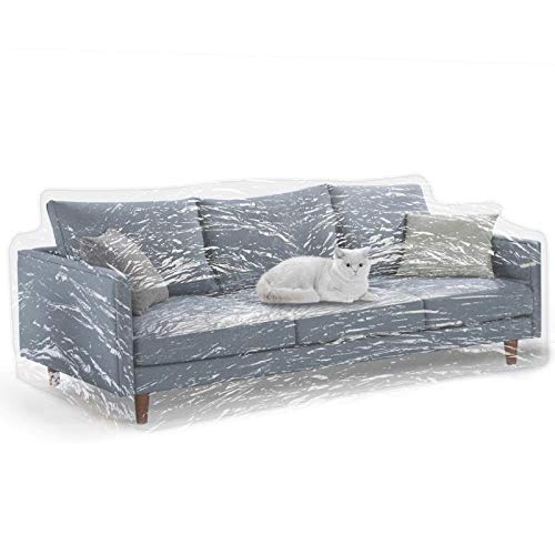 Kebe Clear Thicker Couch Cover For Pets