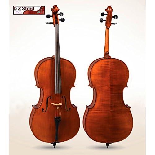 D Z Strad Model 600 Pernambuco Cello Bow Ebony Frog 4//4 Full Size
