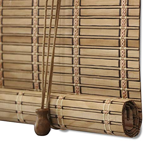 Buy Zy Blinds Bamboo Window Blinds Light Filtering Roll Up Blinds With Valance 20 W X 36 L Pattern 5 Online In Thailand B07szn2qxn