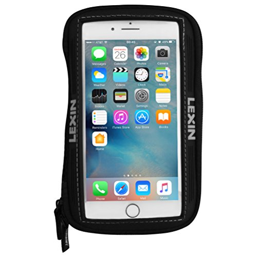 LEXIN MAGLOKD TANK BAG With SuperCool Mesh Ventilation for Motorcycle//Sportbike//ATV//Powersports Magnetic Tank Bag//Tank Pouch Phone Holder//Case