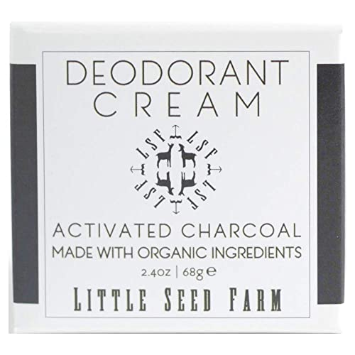 Little Seed Farm All Natural Deodorant Cream, Aluminum Free Deodorant for  Women or Men, 2 4 Ounce - Activated Charcoal