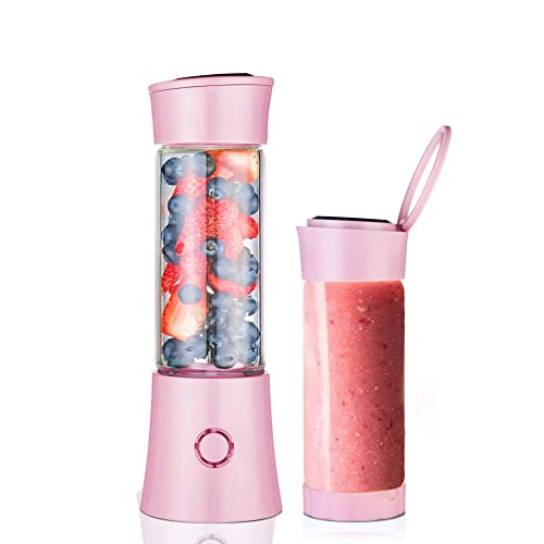 Small Blender Single Serve Personal For Shakes Smoothies To Go Mini Cup Portable