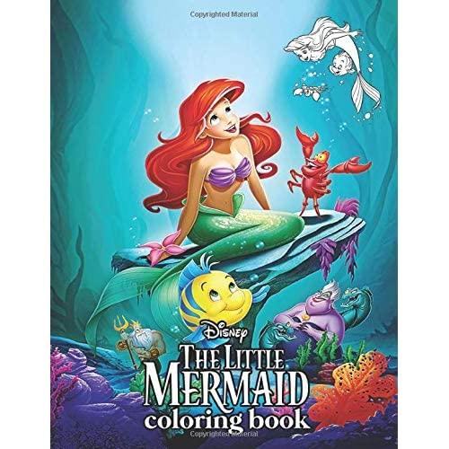Buy Little Mermaid Coloring Book: Over 50 Coloring Pages Of Little Mermaid  Movie. To Inspire Creativity And Relaxation. A Perfect Gift For Kids And  Adults Paperback – October 19, 2019 Online In Thailand. 1700989693