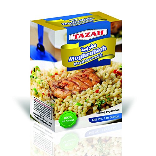 Tazah Moghrabieh Pearl Couscous 1lb 454 Gr Buy Products Online With Ubuy Thailand In Affordable Prices B01lxdmt34