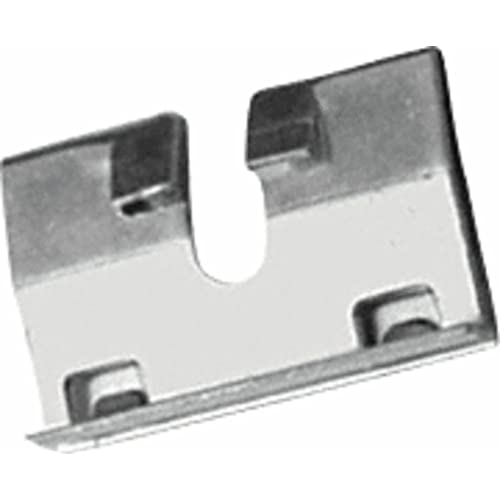 CRL Floor Mounted Heavy Duty Angle Stop With Rubber Bumper