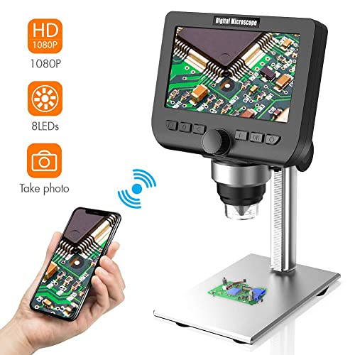 1080P HD WiFi Microscope Android-Apple//Computer Multi-Purpose Electronic Digital Microscope