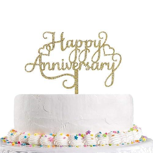 Glitter Retirement Cake Topper Happy Retirement Cake Topper