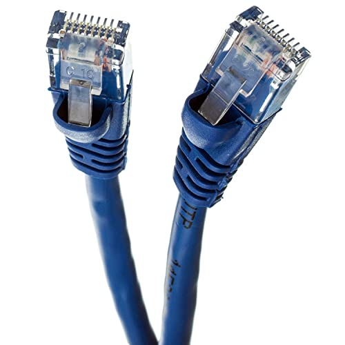 25 Feet - Red Available in 28 Lengths and 10 Colors RJ45 10Gbps High Speed LAN Internet Patch Cord UTP GOWOS 20-Pack Cat6 Ethernet Cable Computer Network Cable with Snagless Connector