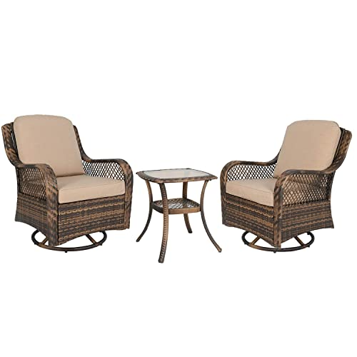 Stylish Outdoor Furniture, Patio Furniture Swivel Glider Chair