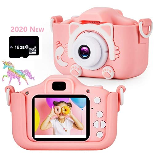Mini HD 1080P 2.0 In LCD Compact Digital Camera For Kids Children Funny Gift UK