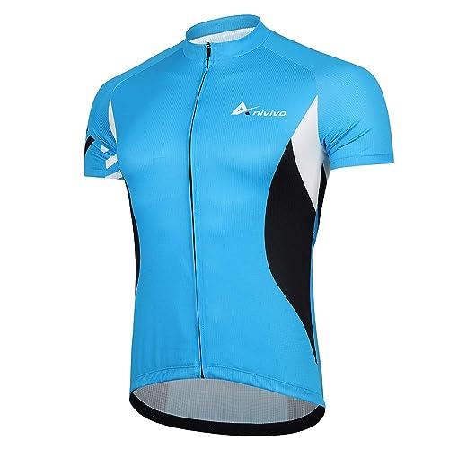 Didoo New Men/'s Half Sleeves Cycling Jerseys Outdoor Cycle Sports Summer Tshirts