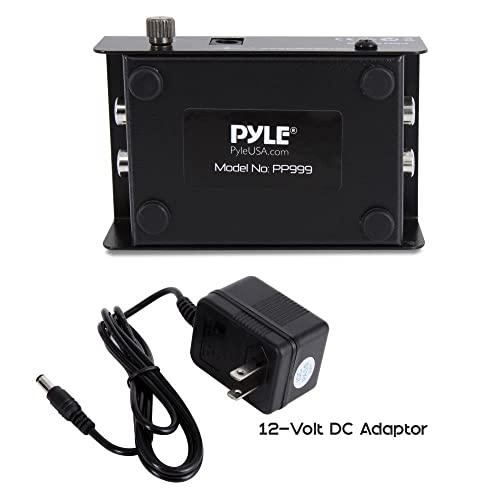 AC Adapter For PYLE PRO PP444 PP555 PP999 Phono Turntable Preamp Power Supply