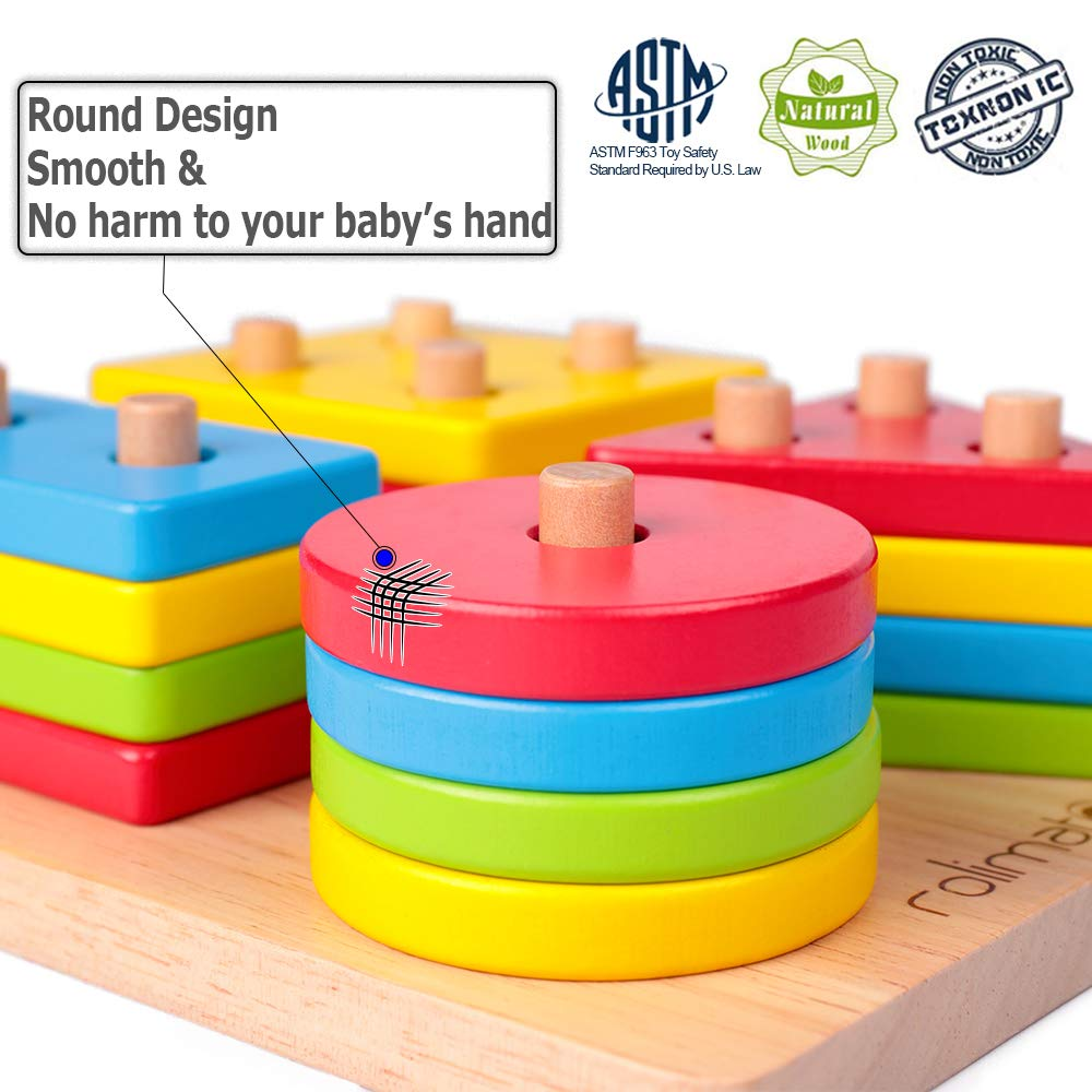 Buy Rolimate Educational Toy Toddler Toy for 2 3 4+ Years ...