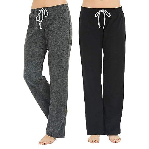 Essentials Womens Lightweight Lounge Terry Pajama Pant