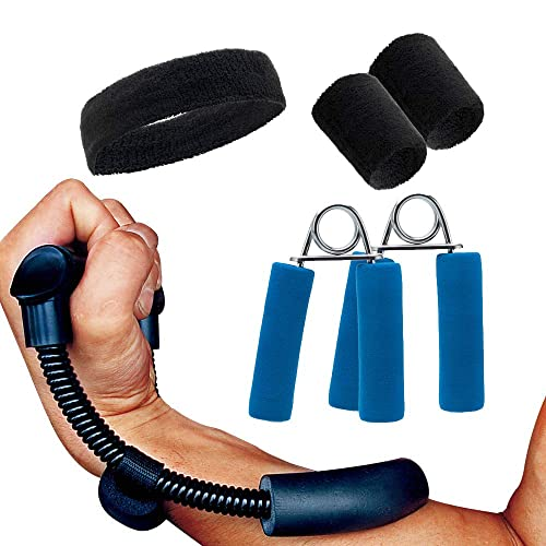Hand Wrist Trainer Exerciser for Quickly Increasing Wrist Forearm and Finger Strength 22~132Lbs Finger Gripper Dalonfly 2 Pack Hand Grip Strengthener Set,Adjustable Resistance
