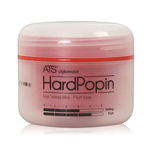 Ats Stylemuse Hard Popin Styling Wax Mens And Women S Hair Styling Product Matte Wax Molding Cream Paste Pomade Sculpting Forming Texturizer Putty Super Strong Hold Earth Friendly 100g 3 52oz Buy