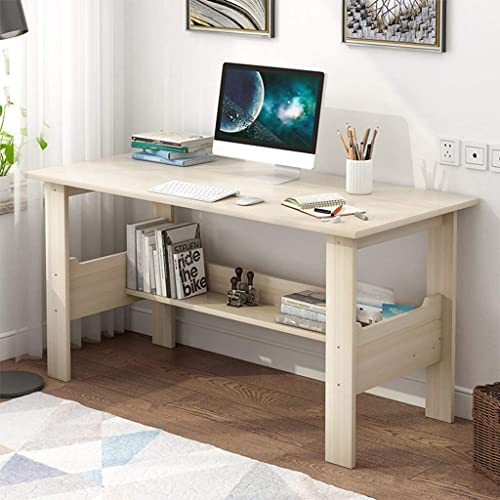Computer Desk Large Office Desk Workstation Studying Writing Desk Study Table Workstationfor Home Office Furniture 39 4 X 17 7 X 28 3 Inches 100x45x72 Cm Buy Products Online With Ubuy Thailand In Affordable Prices B07z61358h