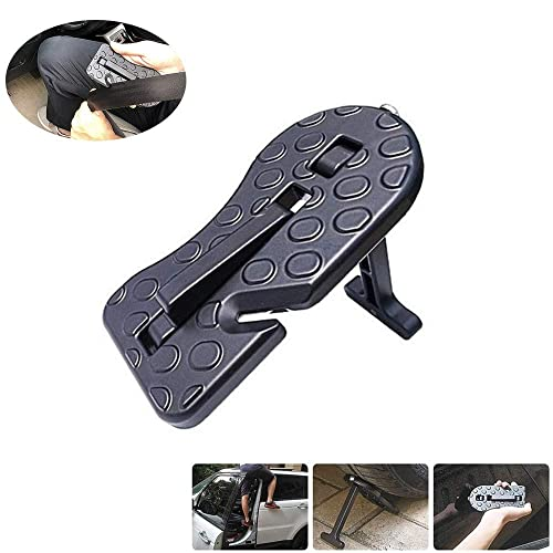 Skyout Car Roof Door Pedal for Car black SUV Off-road Jeep Easy Access to Car Rooftop Built-in Small Blade Door Hook 90/° Folding Bend Non-slip Multi-functional Auxiliary Ladder