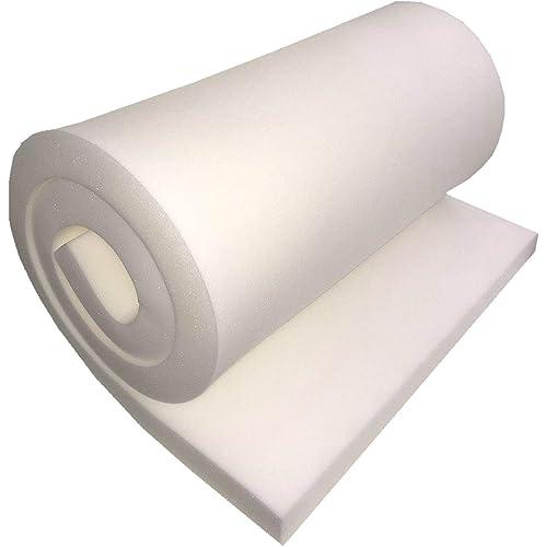 High Density FoamTouch Upholstery Foam Cushion 2 H x 24 H x 72 L