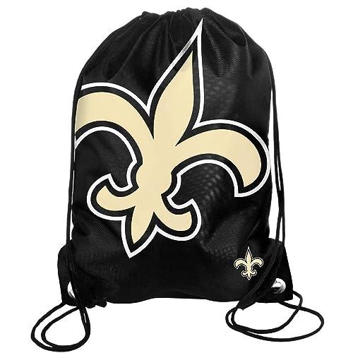 FOCO NFL Unisex High End Zipper Drawstring Backpack