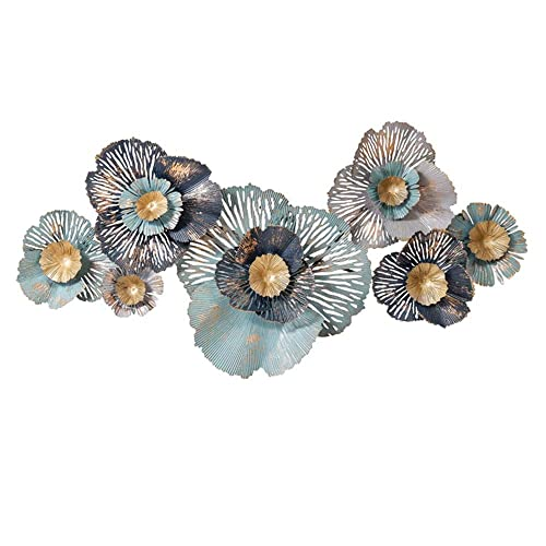 Buy Fenfouba Metal Wall Art Decor Sculpture European Wrought Iron Three Dimensional Flower Wall Hanging For Home Decorations Online In Thailand B07qx9ky9v