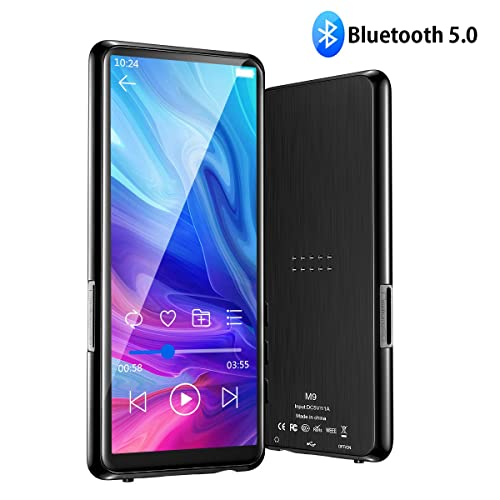 MP3 Players with Bluetooth 5.0 /& 3.46 Inch Touch Display Olycism 8GB Bluetooth MP3 Players Supports FM Radio Recorder Video E-book TF Card up to 128GB