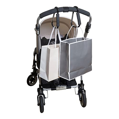 UK Usefu Multi Purpose Hooks Hanger Baby Diaper Purse Cloth Great Accessory
