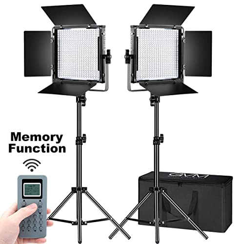 45W LED Photography Video Lights 5500K//3200K Bi-Color Dimmable Flat Panel Light for Camera Photo Studio Shooting,YouTube,Live