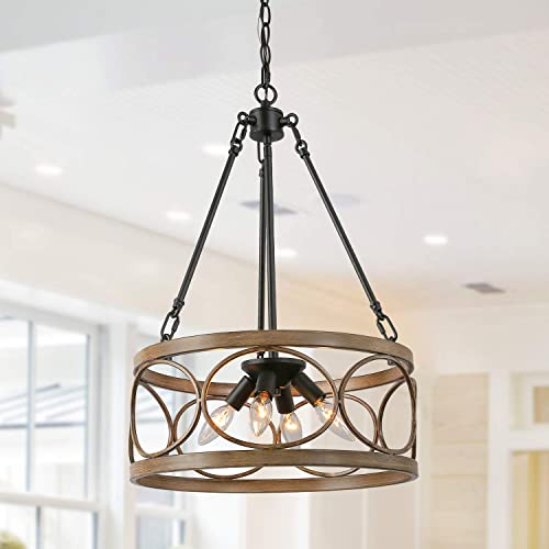 Ksana Drum Chandelier 16 Modern Farmhouse Pendant Chandeliers For Dining Room Living Room And Entryway Buy Products Online With Ubuy Thailand In Affordable Prices B07wyx21t4