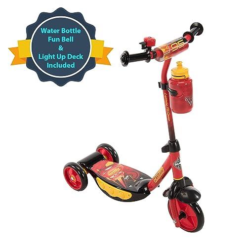 Disney Princess Disney Frozen Marvel Spider-Man Huffy Three-Wheel Preschool Scooter Disney Pixar Cars Star Wars