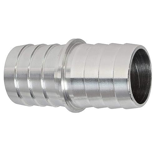 AC PERFORMANCE 8 AN Black Aluminum 90 Degree Swivel Female PTFE Fuel Line Hose End Fitting for AN8 Teflon Hose
