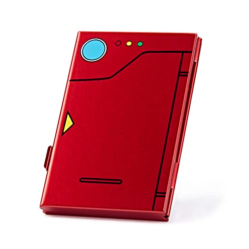 Funlab Premium Game Card Case For Nintendo Switch Portable And Thin Aluminum Game Storage Card Holder Box Suitable For 6 Game Cards Pokedex Red Buy Products Online With Ubuy Thailand In