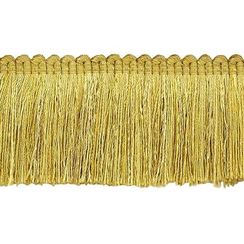 D/ÉCOPRO Decorative 5 inch Key Tassel 3752 Gold Wine Green Imperial II Collecion Style# IKTJ Color: Holiday Splendor
