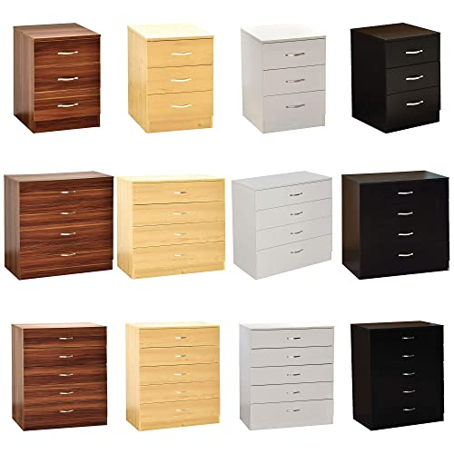 Vida Designs White Chest Of Drawers, Bedroom Furniture Runners