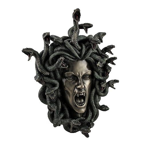 Buy Medusa Head W Snake Hair Gorgon Lady Wall Plaque Online In Thailand B06xjb95s3