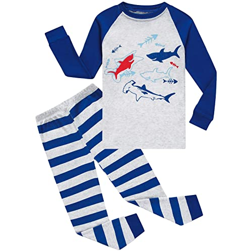Dolphin/&Fish Boys Pajamas Little Toddler Pjs Sets 100/% Cotton Kids Clothes Sleepwears