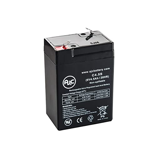 6V 4.5Ah F1 Replacement Battery Compatible with The SEL CP0660