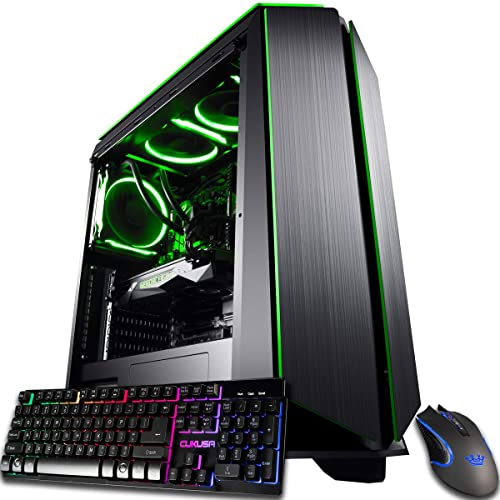 Buy Cuk Mantis Custom Gaming Pc Liquid Cooled Intel I7 9700k 32gb Ram 1tb Nvme Ssd 2tb Hdd Nvidia Geforce Rtx 2070 Super 600w Gold Psu Windows 10 The Best New Tower Desktop