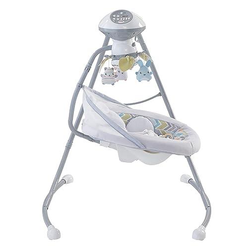 Fisher-Price Sweet Snugapuppy Dreams Soothing Baby Infant Cradle /'n Swing DRG43