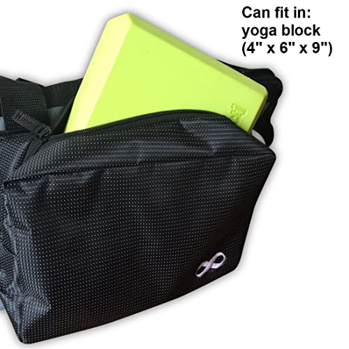 Fit Most Mat Size Extra Large Compartment for Yoga Block 30 Long YogaAddict Yoga Mat Tote Bag Supreme and Carriers with Pocket /& Zipper Gym Easy Access Pilates