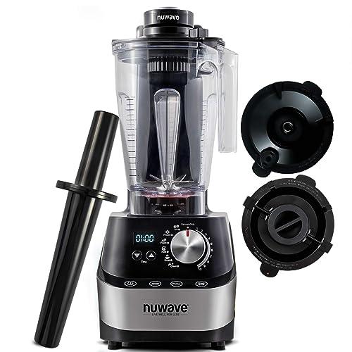 Buy Nuwave Moxie High Performance Digital Vacuum Blender With Bpa Free 64ounce Jar Plunger Lid Plunger And Vacuum Lid Nsf Certified Online In Thailand B07gfnccwp