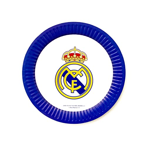 Real Madrid FC Football Club Ceramic Egg Cup Blue White Badge Crest Official