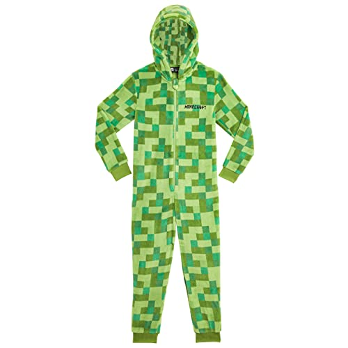 Sleepsuit BNWT Minecraft  All-in-one suit for boys kids Hooded Jumpsuit