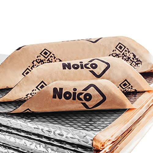 Noico 80 mil 2 mm 36 sqft 3.4 sqm car Sound deadening mat Butyl Automotive and